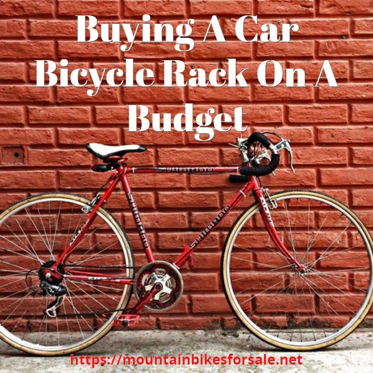 Buying A Car Bicycle Rack On A Budget