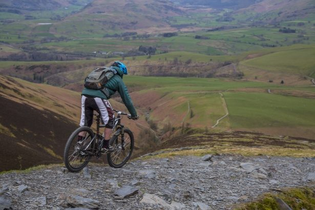 mountain-biking tour